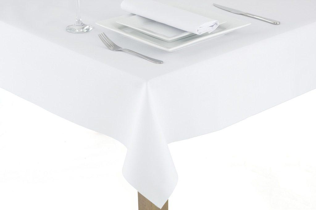 Plain tablecloths wholesale table cloths cheap table linen for Cheap plain white wallpaper