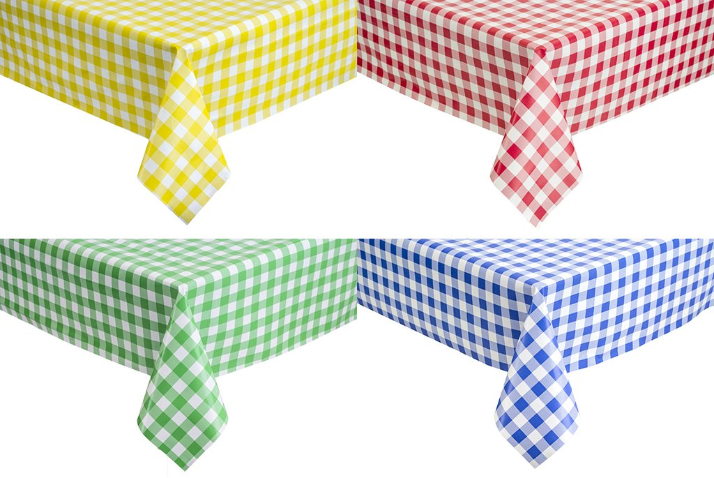 PVC Gingham Collection Direct Linen