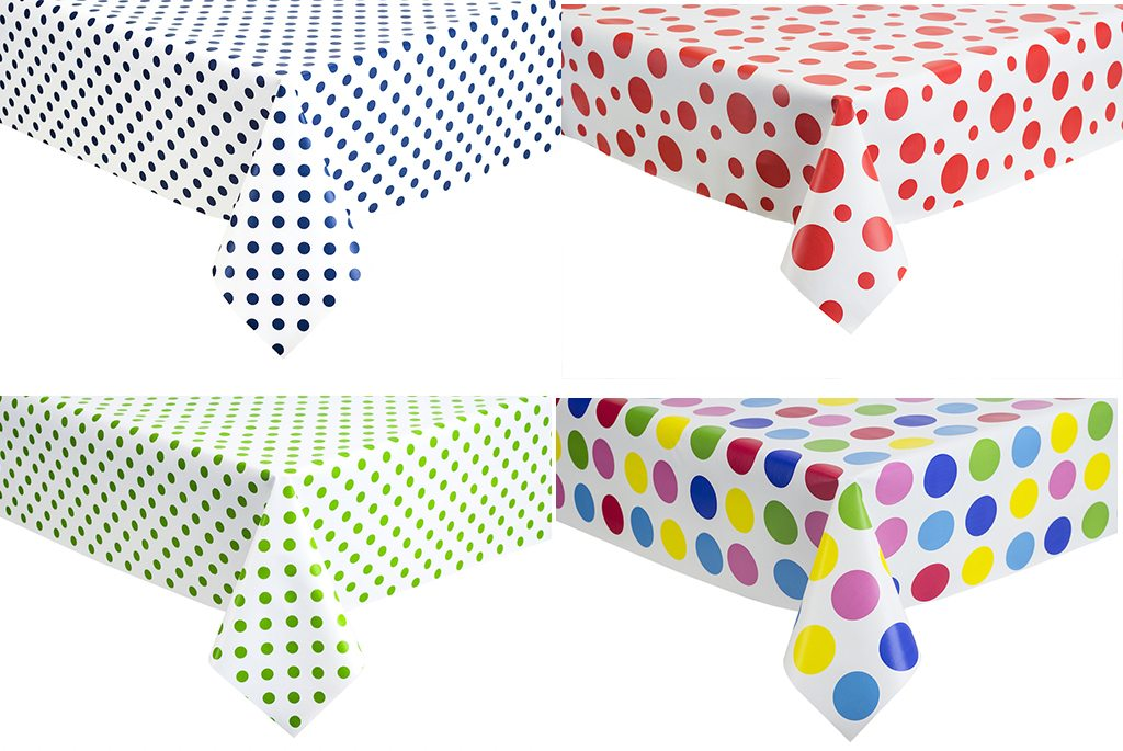 Pvc Polka Dot Collection Direct Linen