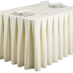 Pleated Tablecloths