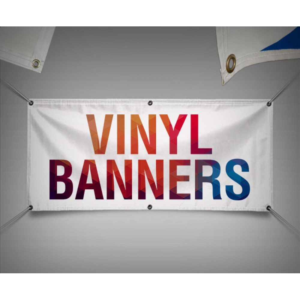 Vinyl Printing (Banner) -Direct Linen, customised to any size